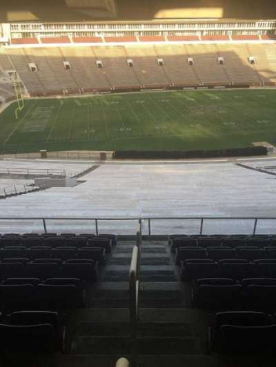 Davis Wade Stadium, section: 110, row: 67, seat: 1