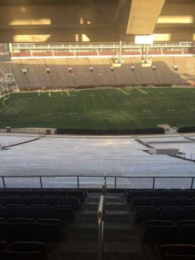 Davis Wade Stadium, section: 109, row: 68, seat: 01