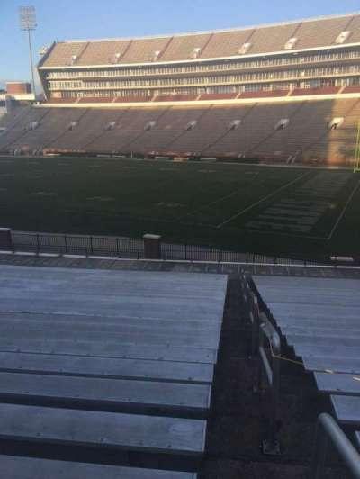 Davis Wade Stadium, section: 101, row: 28, seat: 1