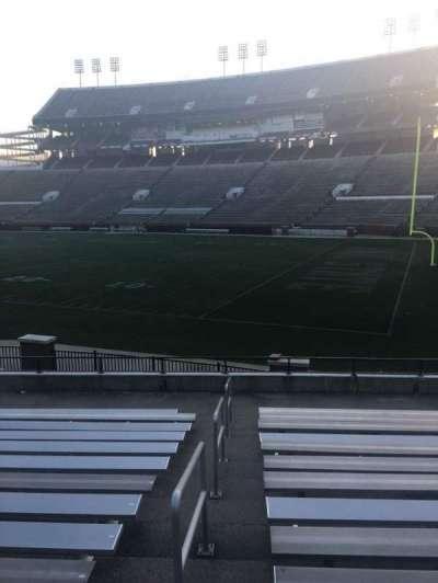 Davis Wade Stadium, section: 16, row: 16, seat: 01