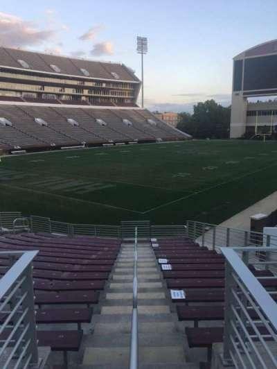Davis Wade Stadium, section: 08, row: 15, seat: 06