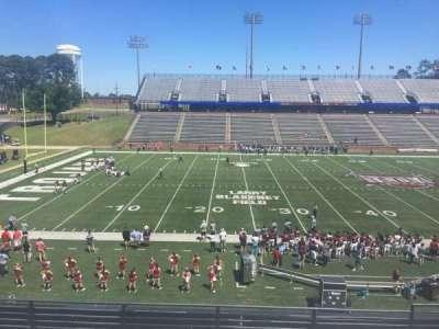 Veterans Memorial Stadium, section: 206, row: 5, seat: 1