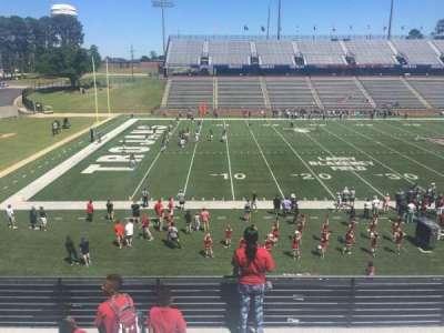 Veterans Memorial Stadium, section: 204, row: 5, seat: 1
