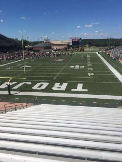 Veterans Memorial Stadium, section: 125, row: 20, seat: 15