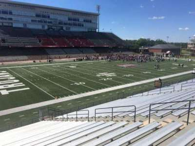 Veterans Memorial Stadium, section: 117, row: 20, seat: 1