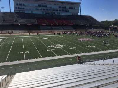 Veterans Memorial Stadium, section: 113, row: 20, seat: 1
