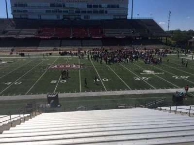 Veterans Memorial Stadium, section: 107, row: 20, seat: 1