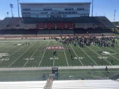 Veterans Memorial Stadium, section: 207, row: 1, seat: 25