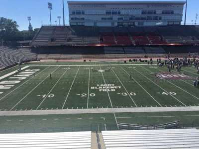 Veterans Memorial Stadium, section: 201, row: 1, seat: 25