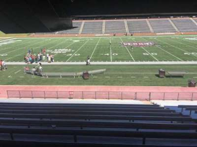 Veterans Memorial Stadium, section: 106, row: 17, seat: 1