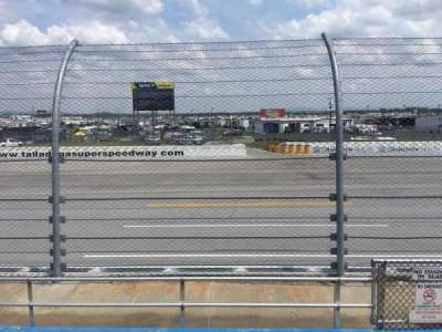 Talladega Superspeedway, section: Lincoln, row: 8, seat: 1