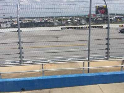 Talladega Superspeedway, section: F, row: 8, seat: 8