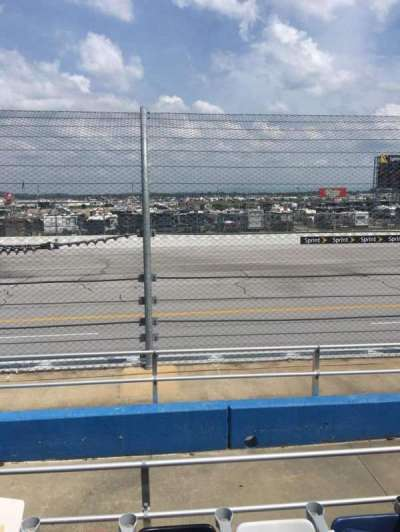 Talladega Superspeedway, section: G, row: 8, seat: 8