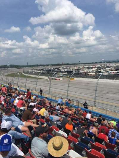 Talladega Superspeedway, section: L, row: 25, seat: 1