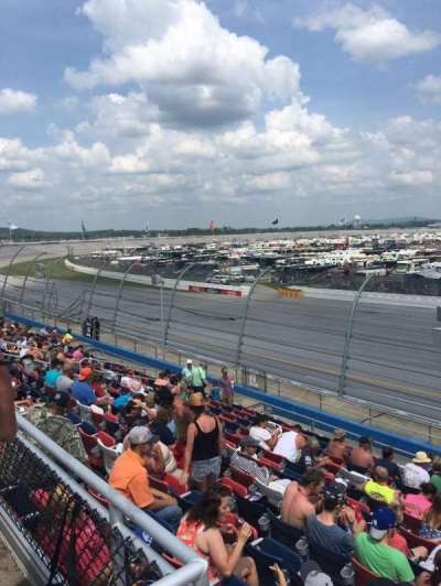 Talladega Superspeedway, section: M, row: 25, seat: 1