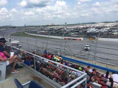Talladega Superspeedway, section: N, row: 25, seat: 1
