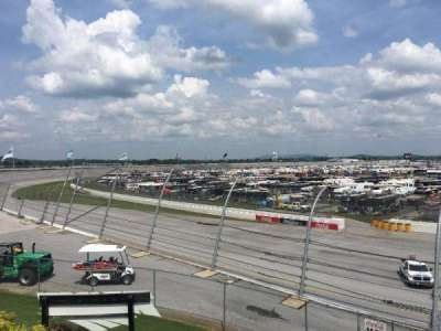 Talladega Superspeedway, section: O, row: 25, seat: 8