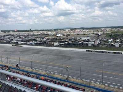 Talladega Superspeedway, section: North Deck