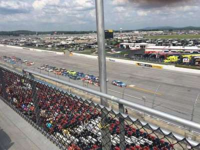 Talladega Superspeedway, section: Anniston tower, row: H