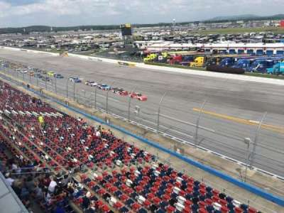 Talladega Superspeedway, section: Anniston tower D