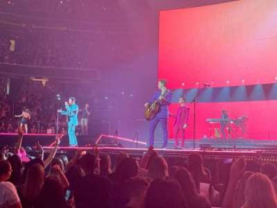 Capital One Arena, section: 121, row: C, seat: 19
