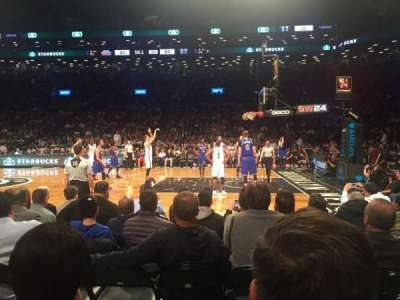 Barclays Center, section: 23, row: 2, seat: 7