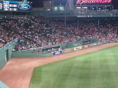 Fenway Park section Green Monster 6