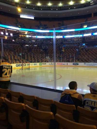 TD Garden section loge 13