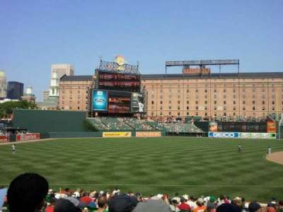 Oriole Park at Camden Yards, section: 62, row: 22, seat: 7