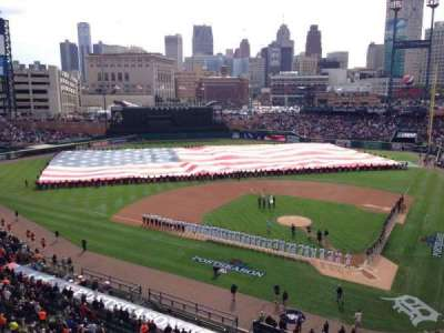 Comerica Park section 331