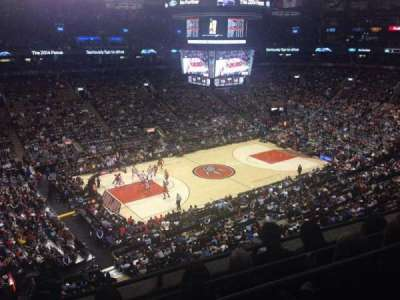Air Canada centre, section: 323, row: 4, seat: 15