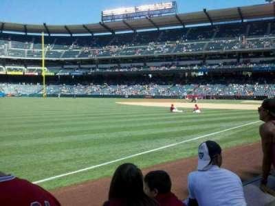 Angel Stadium section 106