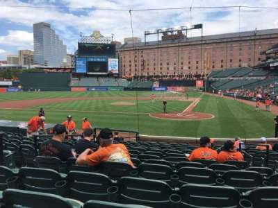 Oriole Park at Camden Yards, section: 44, row: 16, seat: 4