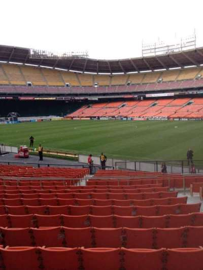 RFK Stadium, section: 202, row: 12, seat: 5
