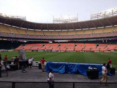 RFK Stadium, section: 105, row: 7, seat: 8
