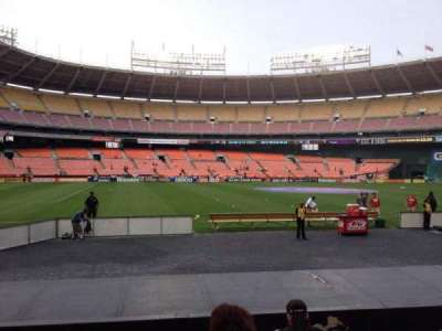 RFK Stadium, section: 110, row: 8, seat: 9