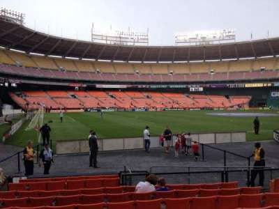 RFK Stadium, section: 113, row: 9, seat: 8