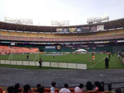 RFK Stadium, section: 117, row: 6, seat: 6