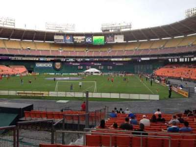 RFK Stadium, section: 217, row: 7, seat: 10