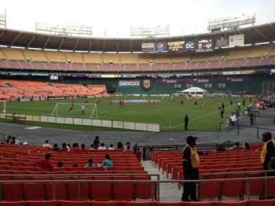 RFK Stadium, section: 215, row: 6, seat: 10