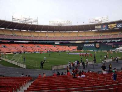 RFK Stadium, section: 214, row: 6, seat: 8