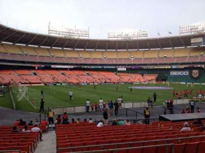 RFK Stadium, section: 213, row: 6, seat: 7