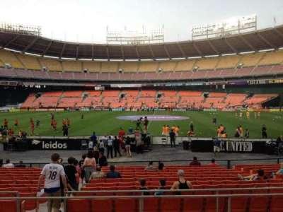RFK Stadium, section: 206, row: 6, seat: 8