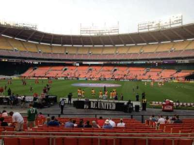 RFK Stadium, section: 205, row: 7, seat: 9