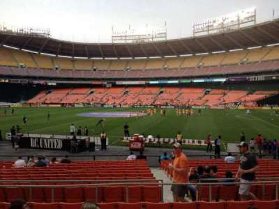RFK Stadium, section: 204, row: 7, seat: 10