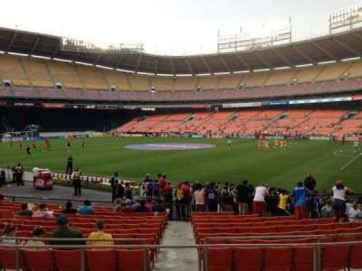 RFK Stadium, section: 202, row: 6, seat: 8