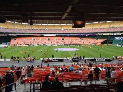 RFK Stadium, section: 307, row: 9, seat: 10