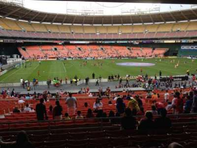 RFK Stadium, section: 310, row: 8, seat: 9