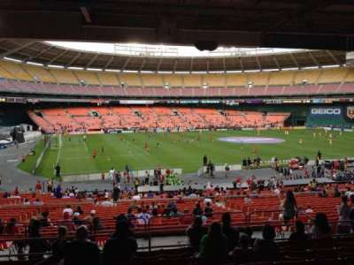RFK Stadium, section: 311, row: 9, seat: 12