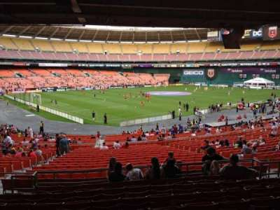 RFK Stadium, section: 313, row: 9, seat: 11